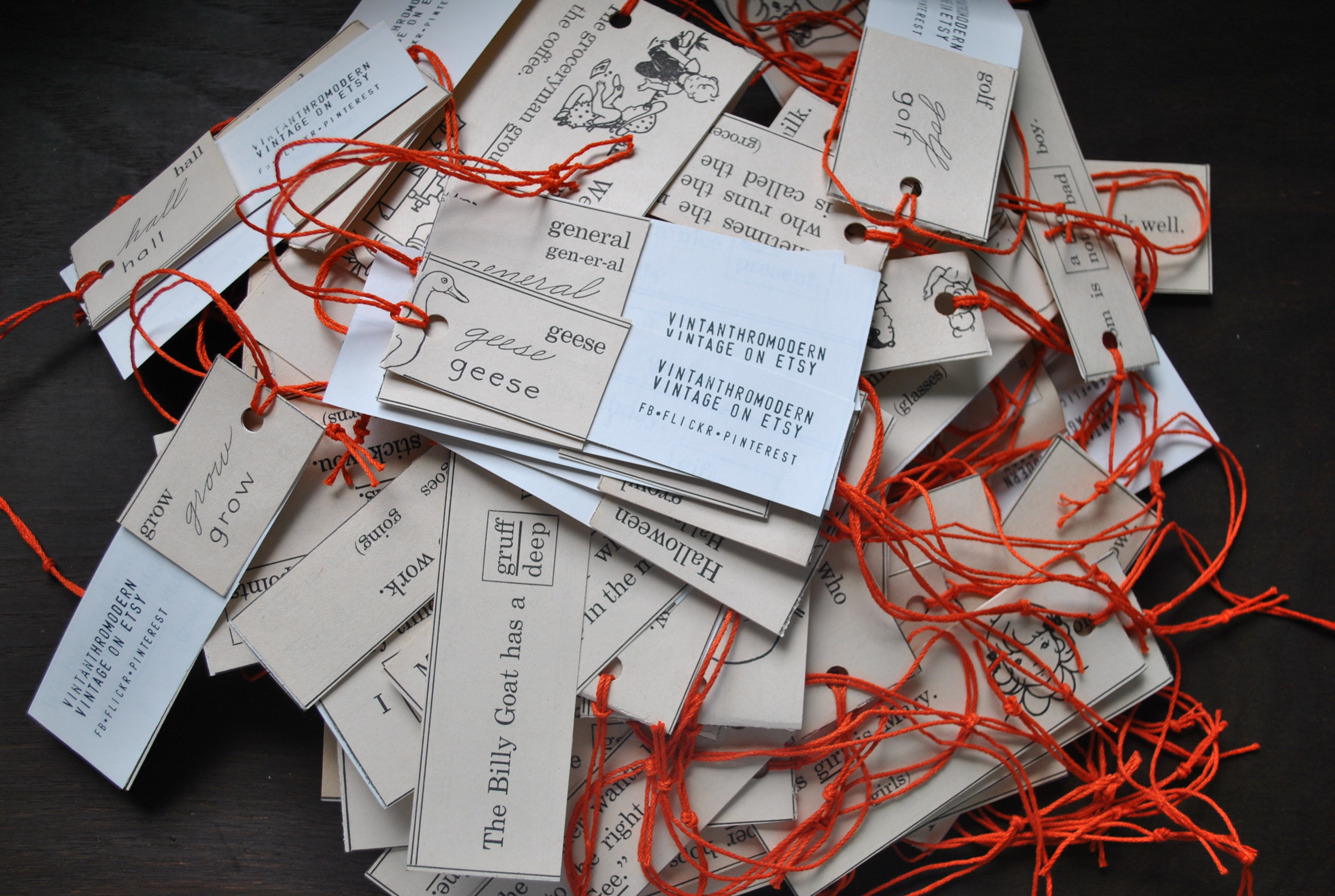 Branding your etsy shop diy business cards price tags and hang tags reheart Gallery